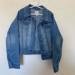 the children's place girl jean jacket